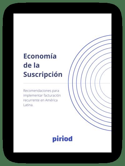 Ebook - economía de la suscripción